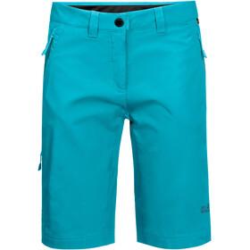 Jack Wolfskin Activate Track Shorts Dames, blauw